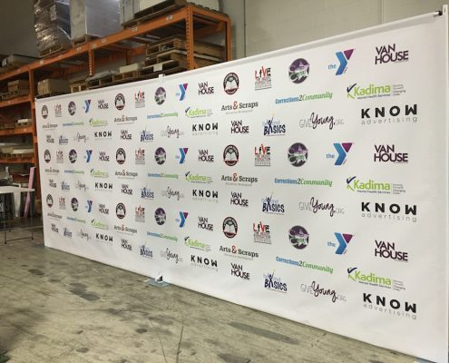 Know Advertising Backdrop